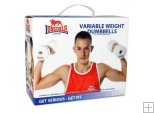 LONSDALE DUMBELLS WII - DOUBLE PACK ( NEW )