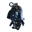 "STAR WARS DARTH VADER DEFORMED 4"" PLUSH KEYRING"